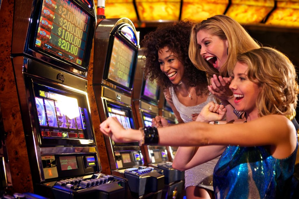the slot machines you play